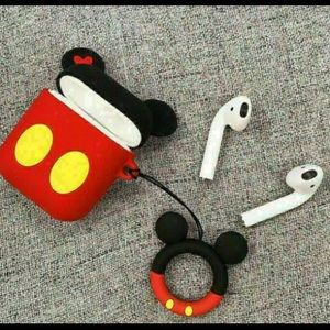 NEW AirPods Cover for Case Silicon Mickey